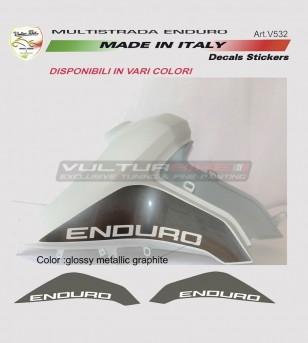 Autocollants de réservoir - Ducati Multistrada enduro