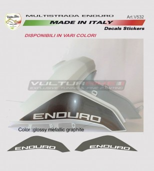 Pegatinas de tanque - Ducati Multistrada enduro