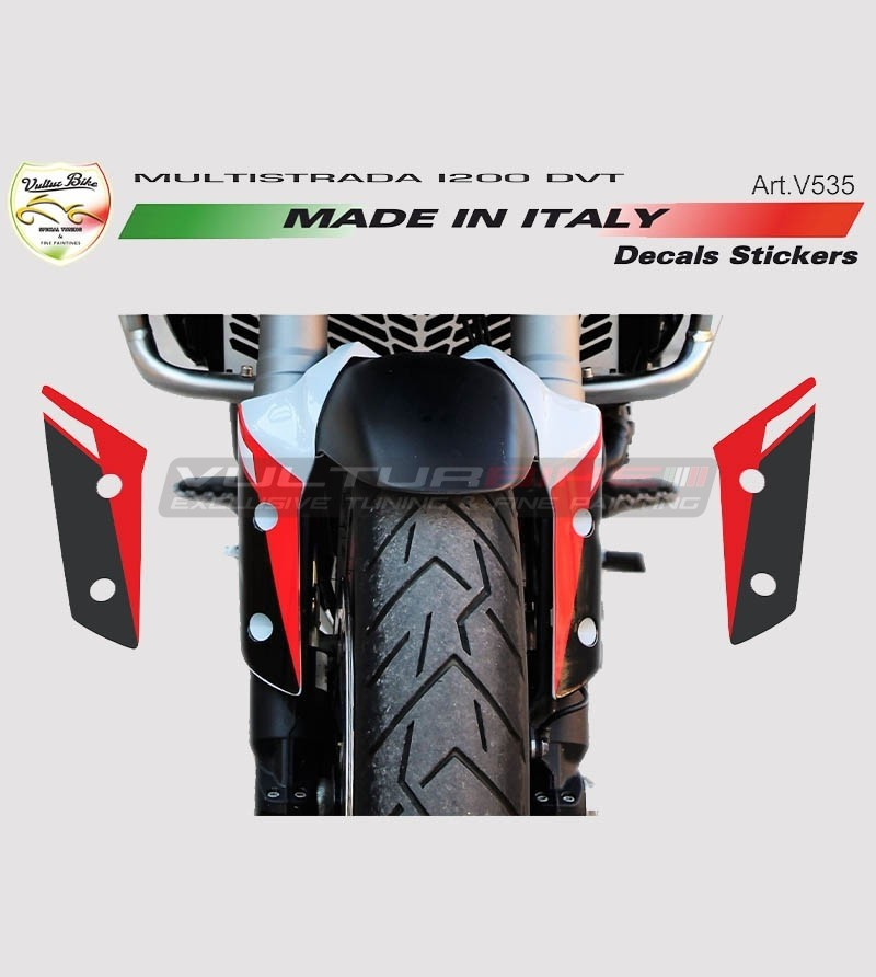 Stickers for fender - Ducati Multistrada 1200 DVT/1260