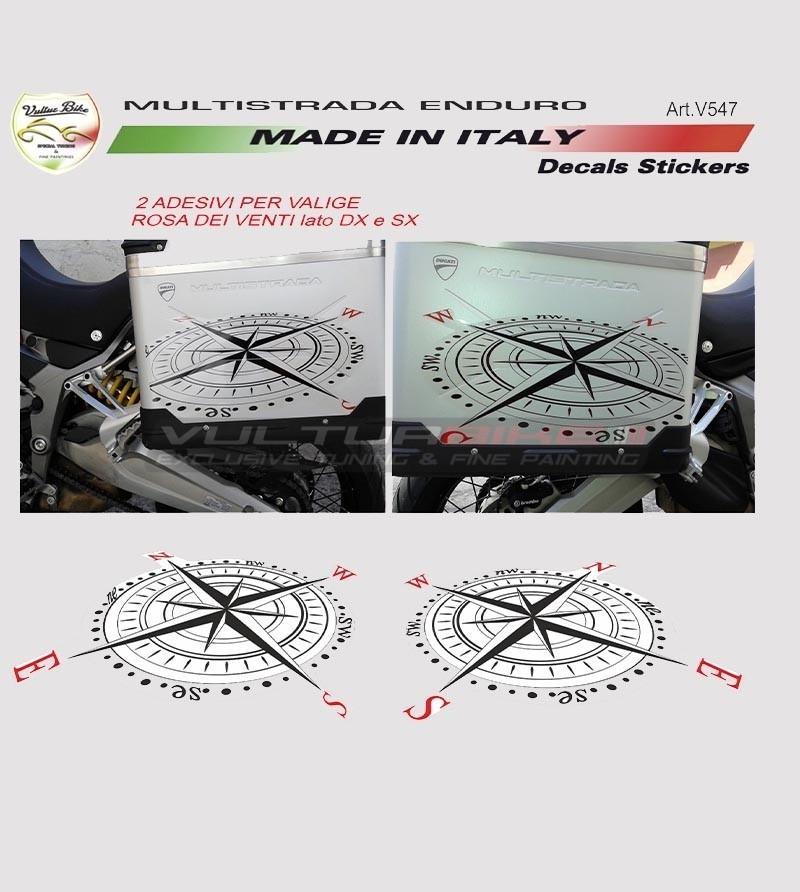 Stickers for side bags - Ducati multistrada 1200 enduro