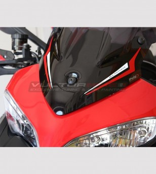 Autocollants personnalisables Multistrada pour bulle - Ducati Multistrada 950/1200 DVT/1200 Enduro