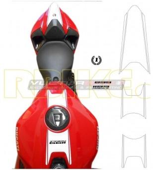 Kit de pegatinas de tanque y codon - Ducati Panigale 899/1199