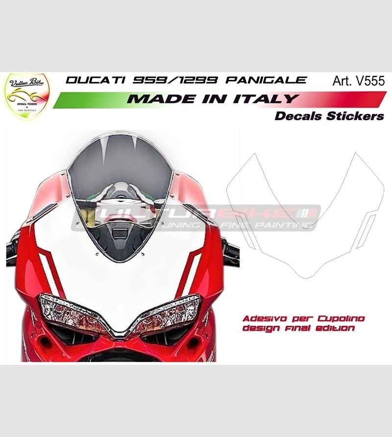 Front Fairing Sticker design Final Edition - Ducati Panigale 959 / 1299
