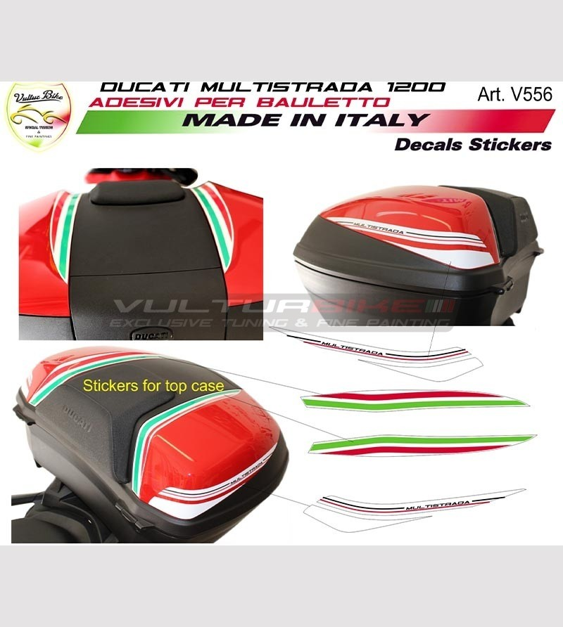 Adesivi per bauletto - Ducati Multistrada 1200