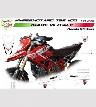 Stickers' kit - Ducati Hypermotard 796/1100
