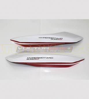 Kit adhesivo de diseño Blanco 939 SP - Ducati Hypermotard 821/939