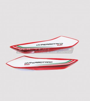 Stickers' kit tricolor design - Ducati Hypermotard 821