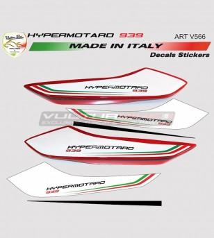Pegatinas de cola de diseño personalizado - Ducati Hypermotard 939
