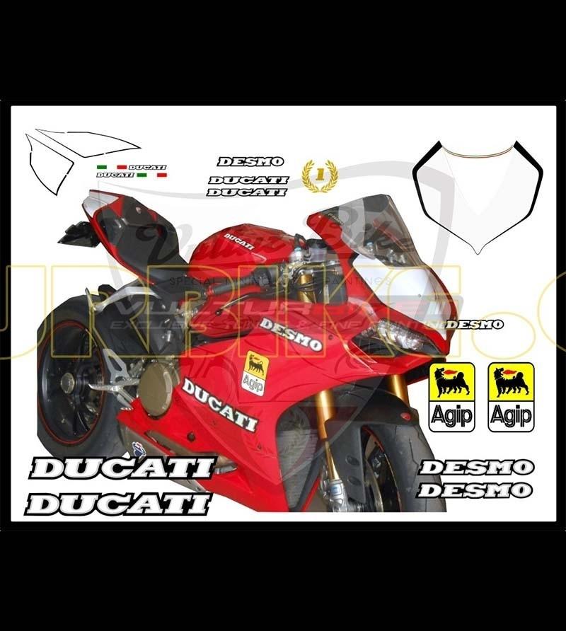 Kit Adesivi Desmo - Ducati Panigale 899/1199