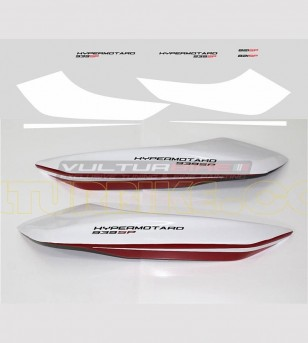Pegatinas para laterales traseros personalizables - Ducati Hypermotard 821/939