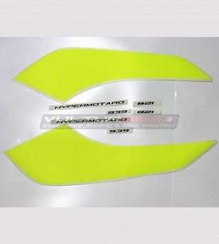 Customizable stickers for backsides - Ducati Hypermotard 821/939