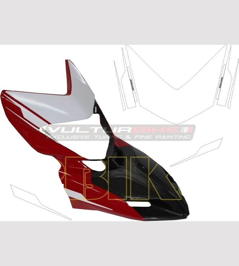 Customizable front fairing's stickers - Ducati Hypermotard 821/939
