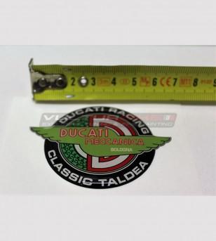 2 resinated stickers - Ducati Classic Taldea