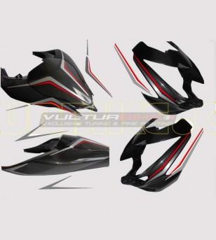Kit autocollant pour carénages - Ducati Streetfighter