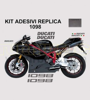 Kit adesivi originali replica colorati - Ducati 1098