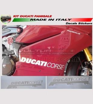 Sidefairings' stickers R version - Ducati Panigale 899/1199/R