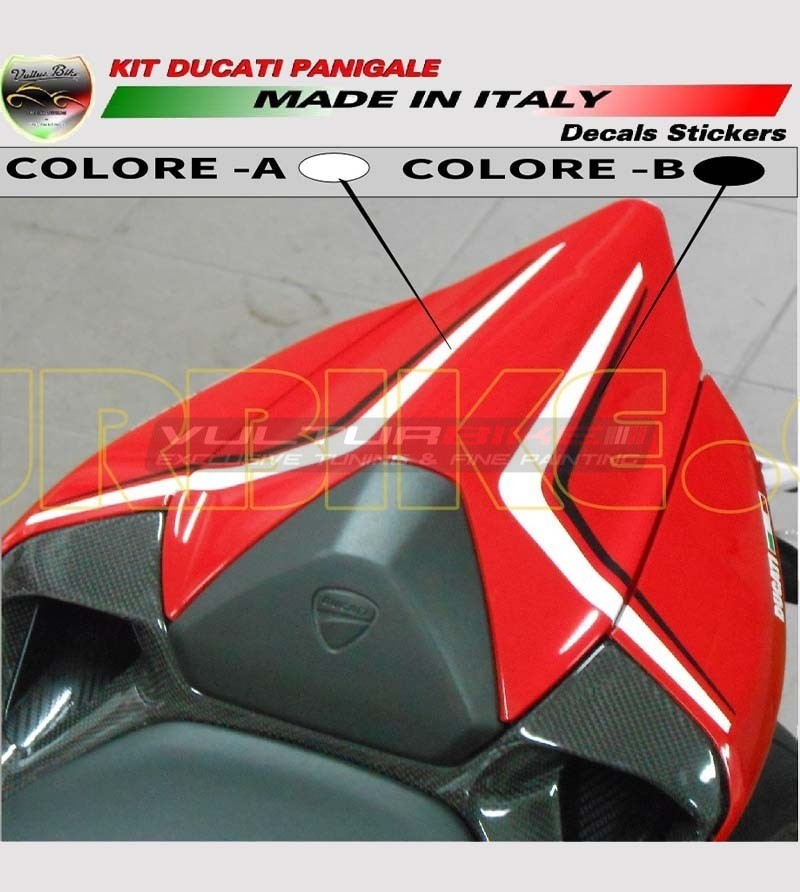 Customizable tail's stickers - Ducati 899/1199 Panigale