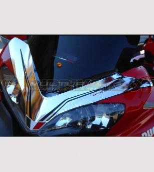 Spiegel Chrom Aufkleber Kit - Ducati Multistrada 1200 2010/14