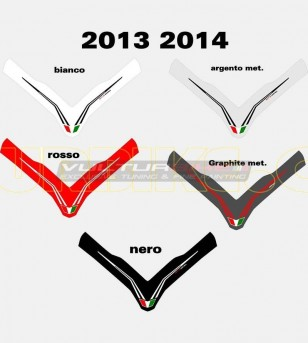 Colored front fairing's sticker - Ducati Multistrada 1200 2010/14