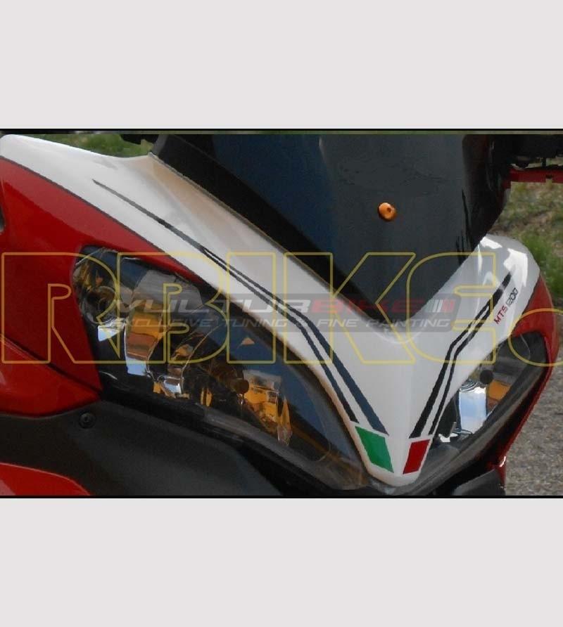 Adesivo colorato per cupolino - Ducati Multistrada 1200 2010/14
