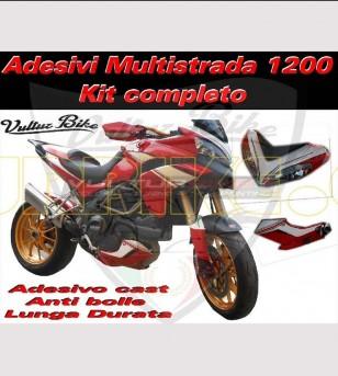 Stickers' kit custom - Ducati Multistrada 1200 2010/14