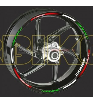 """Wheel Sticker """"Tricolore..."""
