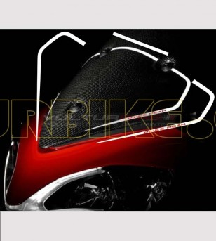 Adesivi per parabrezza replica Pikes Peak - Ducati Multistrada 1200 2010/14