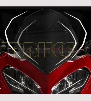 Pegatinas de parabrisas réplica Pikes Peak - Ducati Multistrada 1200 2013/14