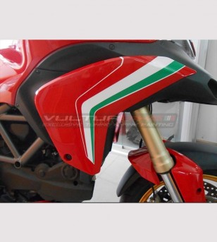 Stickers' kit for deflectors - Ducati Multistrada 1200 2010/14