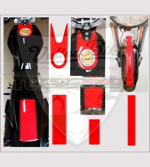 Autocollants de bande centrale - Ducati Monster 600/900/1100