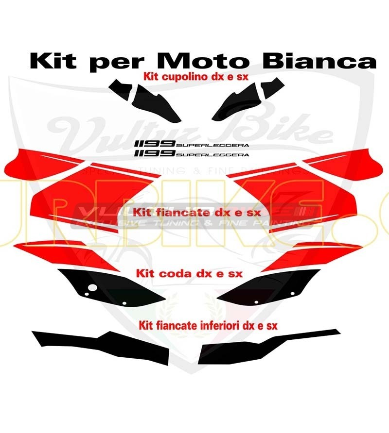 Stickers' kit superlight replica- Ducati Panigale 899/1199