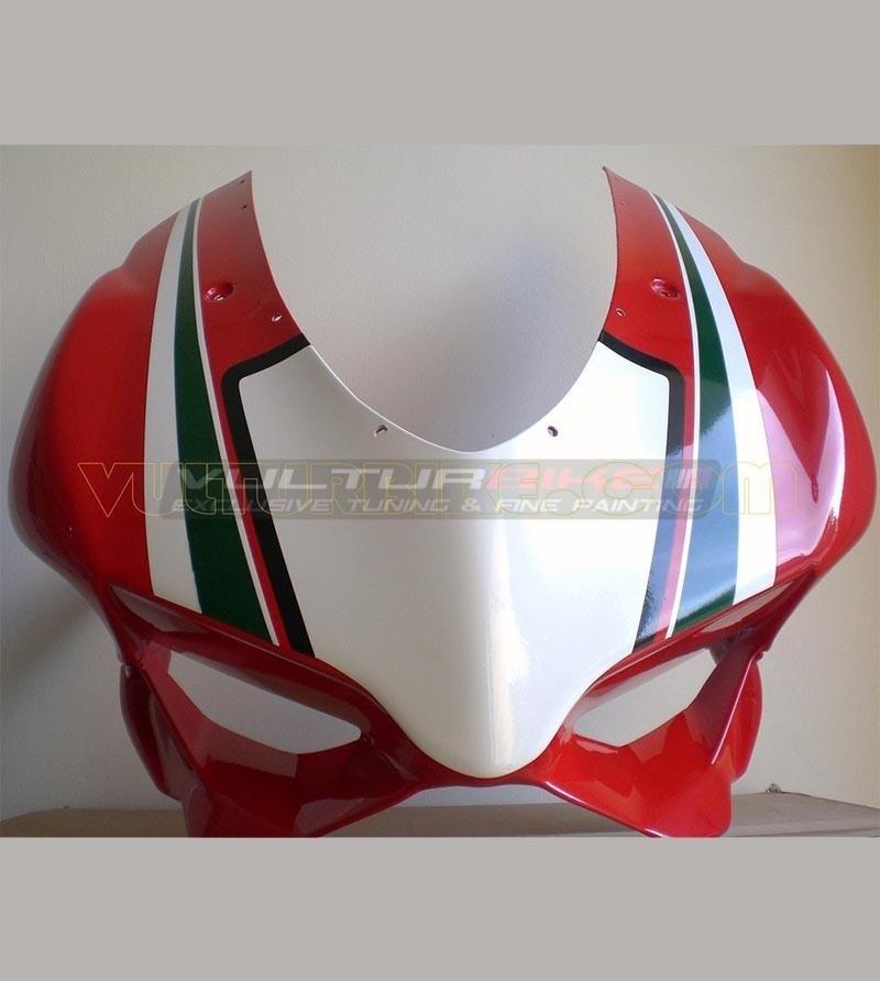 Adesivo Portanumero Cupolino Tricolore - Ducati Panigale 899/1199
