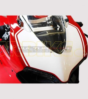 Number plate sticker Look 1299 R - Ducati Panigale 899/1199