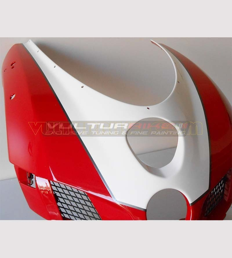Customizable number plate and profile sticker - Ducati 749/999