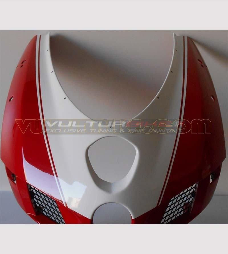 Colored number plate sticker - Ducati 749/999
