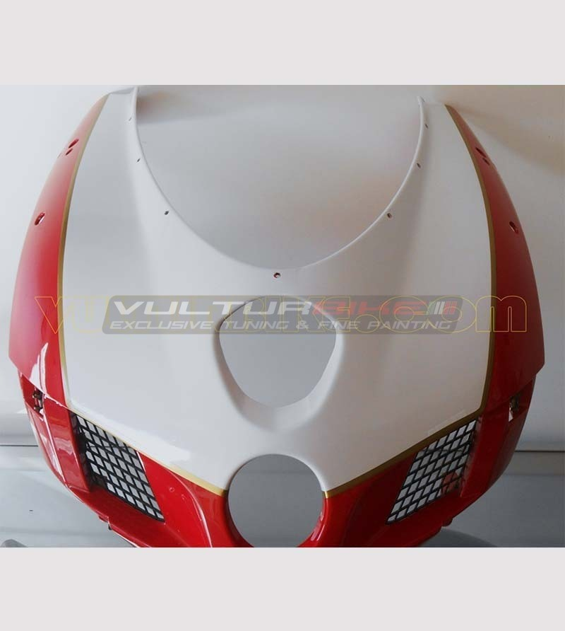 Customizable number plate and profile sticker special - Ducati 749/999
