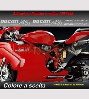 Kit de pegatinas réplica original - Ducati 749/749S