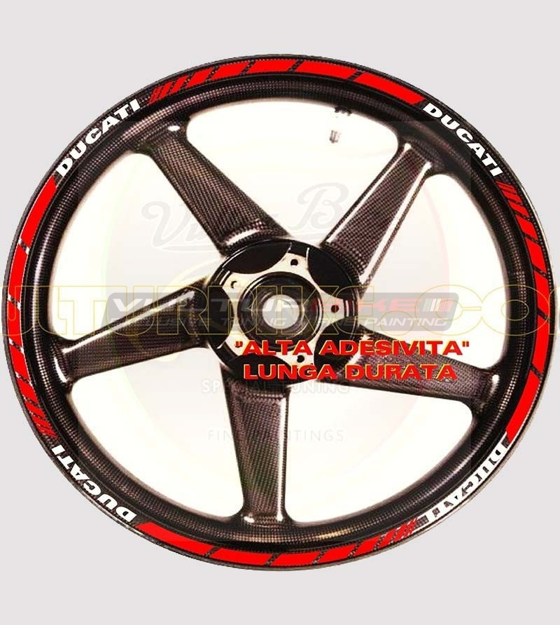18 customizable stickers for wheels - Ducati
