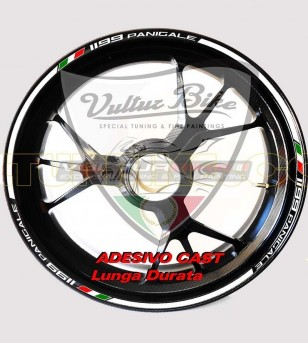 Customizable stickers for wheels - Ducati Panigale 899/1199/1299/959