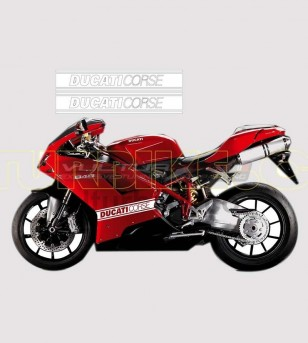 Adesivi colorati per fiancate - Ducati 848/1098/1198