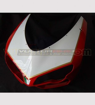 Customizable number holder sticker 1098R Look - Ducati 848/1098/1198