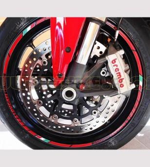 Perfiles de pegatinas Ducati Corse para llantas - Ducati
