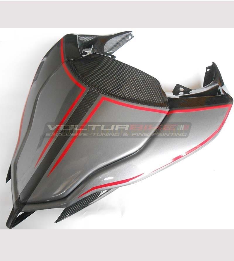 Adesivo portanumero personalizzabile per codone - Ducati Streetfighter