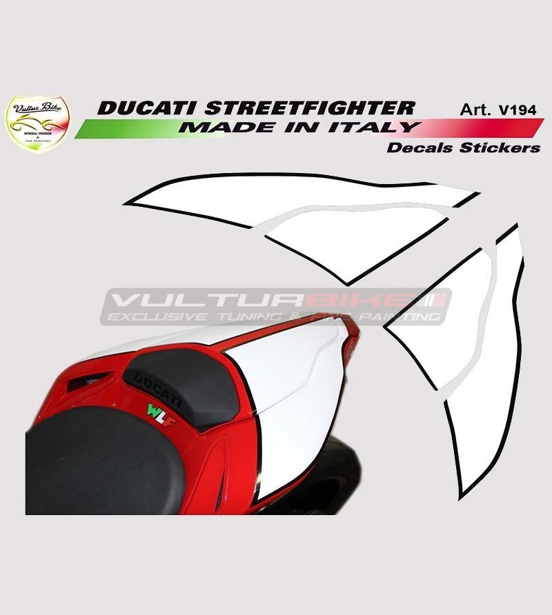 Special customizable tail's number holder - Ducati Streetfighter