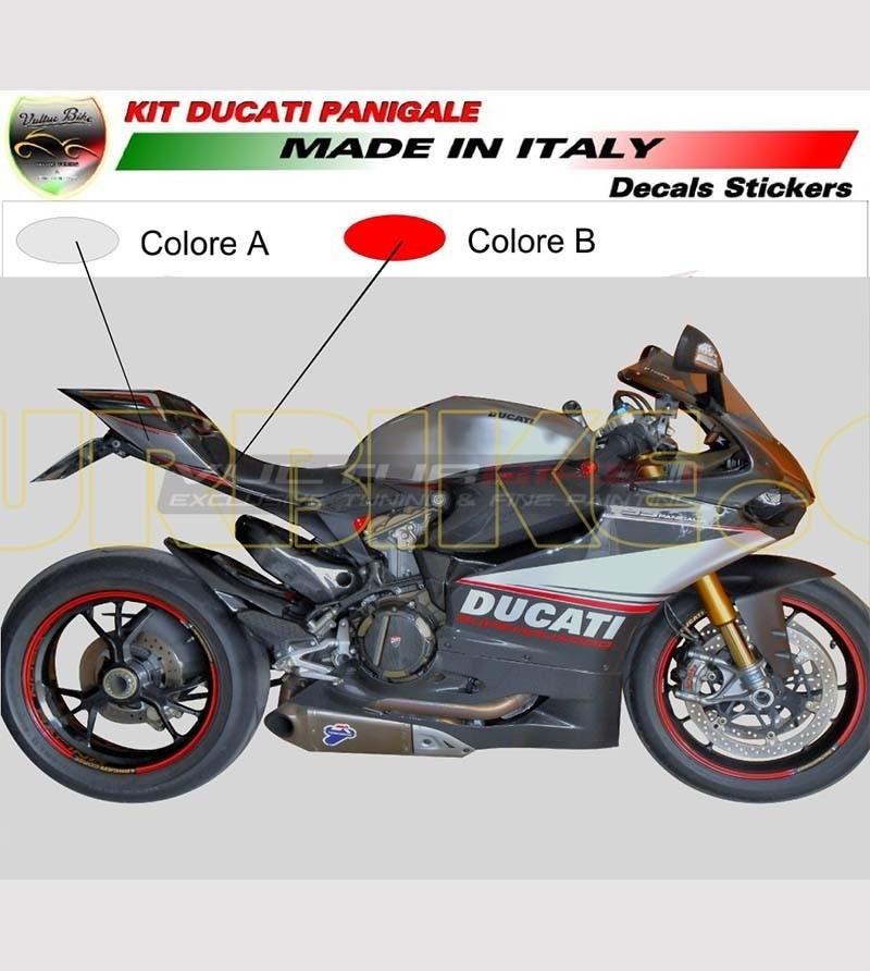 Kit de pegatinas de diseño personalizado - Ducati Panigale 899 / 1199 / 959 / 1299