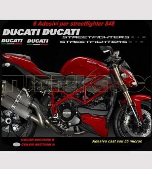 Kit adesivi replica non originale compatibile - Ducati Streetfighter