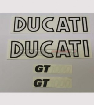 Kit de pegatinas de réplica compatible - Ducati GT 1000