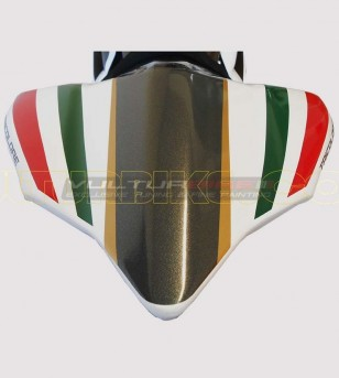 Tricolor stickers' kit for white bike - Ducati Panigale 899/1199