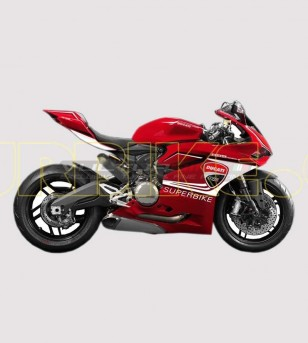 Stickers' kit Superbike colored- Ducati Panigale 899/1199-959-1299