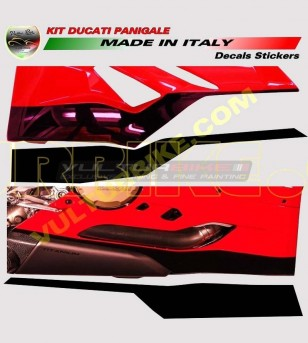 Lower fairings' stickers Look Panigale R 1299 - Ducati Panigale 899/1199